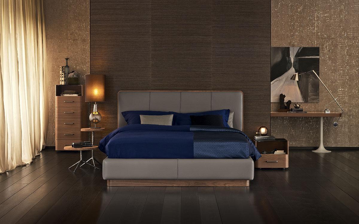 Flou letto ermes testata alta - Cabeceras de cama acolchadas ...