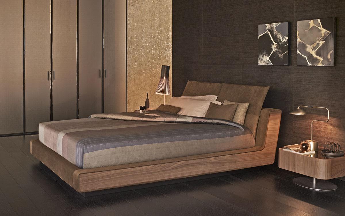 Flou letto sama bordo legno - Camere da letto flou ...