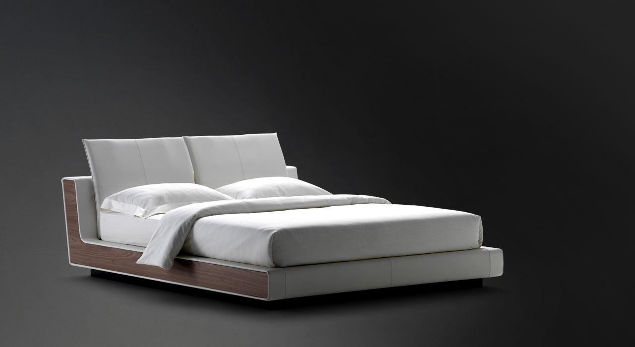 Flou letto sama bordo legno - Prezzo letto flou nathalie ...