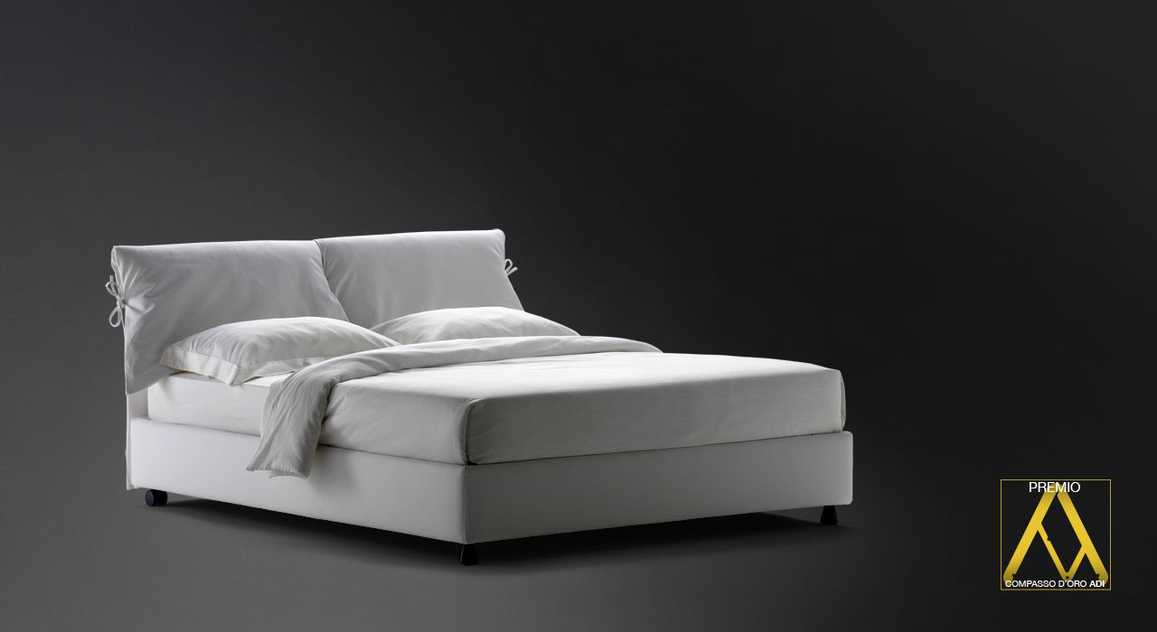 Flou Bed Nathalie Double