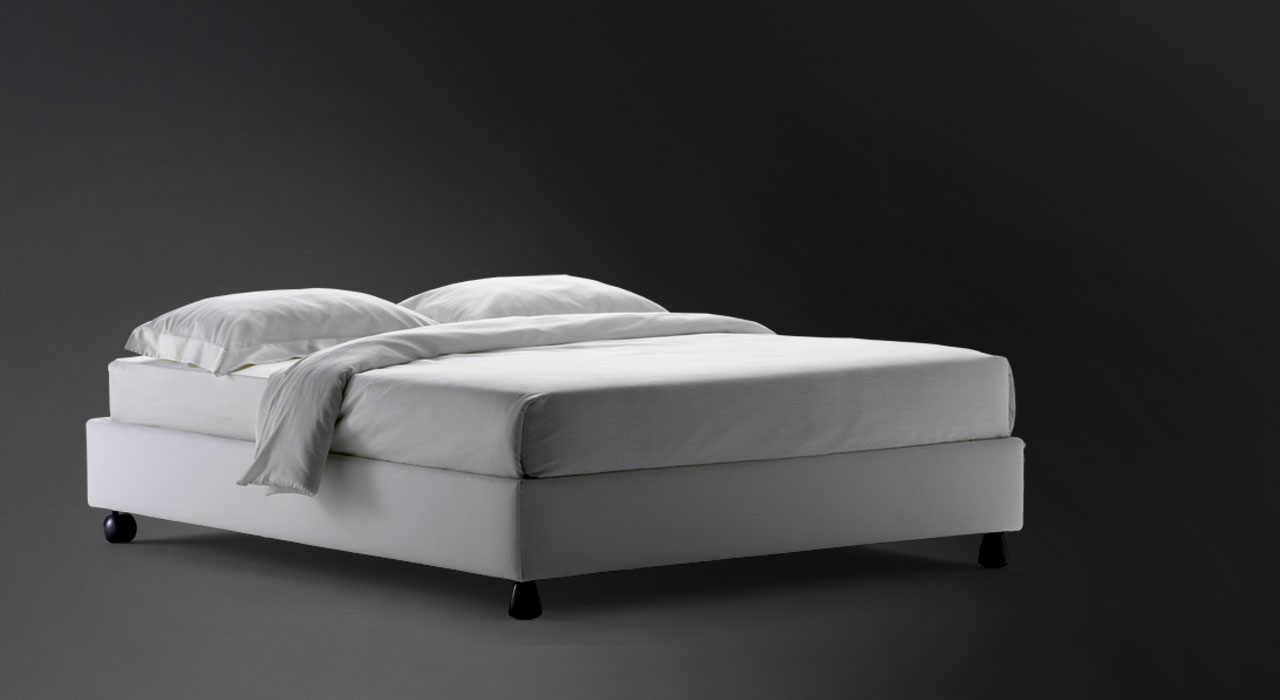 Letto Sommier.Flou Bed Sommier Double